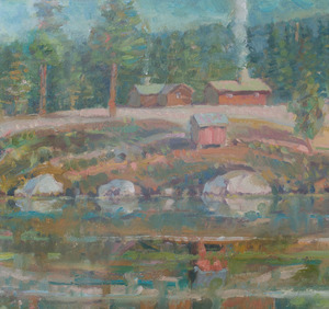 PATRICK DULLANTY (1927-2004): BUCK'S LAKE #2