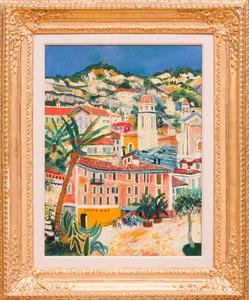 ÉlLISÉE MACLET (1881-1962): VILLE FRANCHE, LE MORIS BAR
