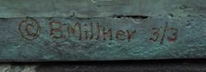 B. MILLNER: JASPER JOHNS IN THE TUB