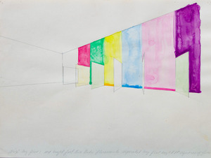 RON COOPER (b. 1943): POSSIBILITIES FOR SEPARATOR VARIATION; SIX BY FIVE; UNTITLED AND SIX BY FIVE SEPARATOR