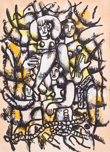 AFTER FERNAND LEGER (1881-1955): UNTITLED