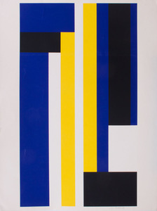 ILYA BOLOTOWSKY (1907-1981): BLUE AND YELLOW