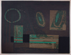ALBERT URBAN (1909-1959): UNTITLED (GREEN)