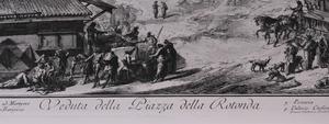 GIOVANNI BATTISTA PIRANESI (1720-1778): VEDUTA DELLA PIAZZA DELLA ROTONDA