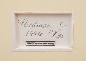 GLORIA HEILMAN-C (b. 1961): SELF PORTRAIT: ENQUIRER SERIES