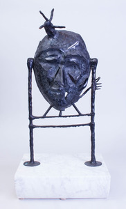 20TH CENTURY SCHOOL: UNTITLED (MASK)