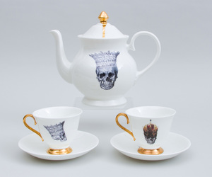 MELODY ROSE HAND-PAINTED PORCELAIN TEA SERVICE