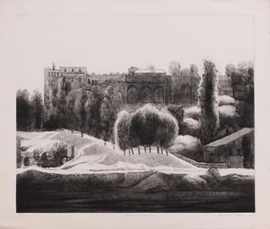 LEONARD LEHRER (b. 1935): CLASSICAL LANDSCAPE