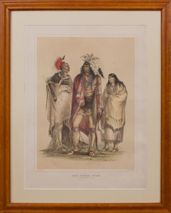 George Catlin (1796-1872): North American Indians; and Wi-Jun-Jon, from The North American Indian Portfolio