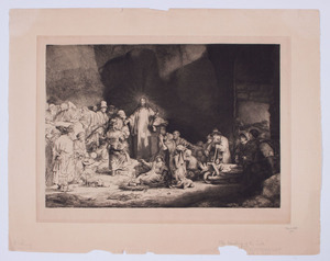 AFTER REMBRANDT HARMENSZ VAN RIJN (1606-1659): THE HEALING OF THE SICK