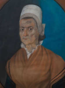 American School: Portrait of an Old Woman