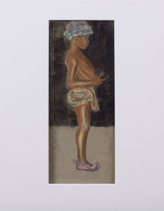 ATTRIBUTED TO CLARY WEBB PEOPLES (1915-1991): BLACK BOY IN TURBAN
