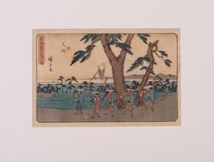 UTAGAWA (ANDO) HIROSHIGE (1797-1858): OISO; KAMEYAMA; AND OCHA NO MIZU