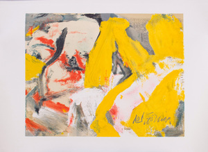 WILLEM DE KOONING (1904-1997): THE MAN AND THE BIG BLONDE