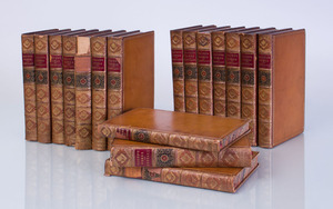 BACON, FRANCIS (LORD CHANCELLOR OF ENGLAND): THE WORKS, IN SEVENTEEN VOLUMES