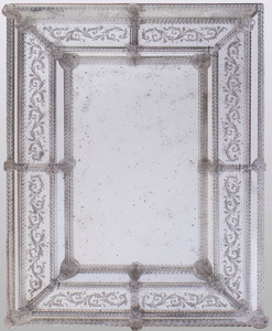 VENETIAN GLASS MIRROR, MODERN