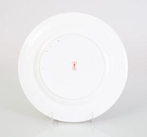 SET OF EIGHTEEN ROYAL CROWN DERBY PORCELAIN DINNER PLATES IN THE 'IMARI' PATTERN