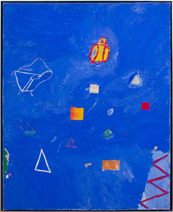 ROGER SELDEN (b. 1945): UNTITLED (BLUE)