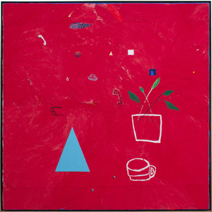 ROGER SELDEN (b. 1945): UNTITLED (RED)