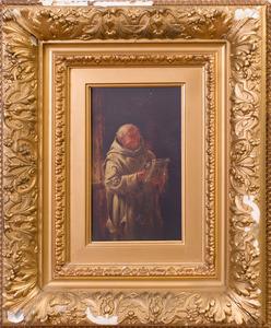 ATTRIBUTED TO ADOLF HUMBORG (1847-1921): AMUSING NEWS