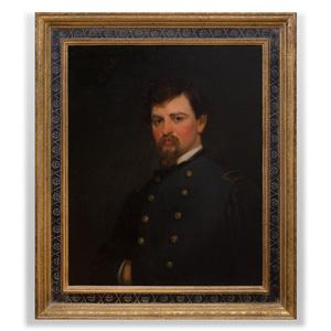 Julian Alden Weir (1852-1919): Portrait of Colonel Henry Cary Weir