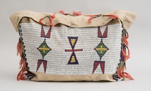 Sioux Beaded Deer Skin Bag