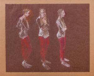 JOHN MOMINEE: THREE DANCERS