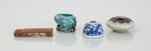 GROUP OF CHINESE SCHOLAR'S OBJECTS