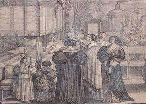 ABRAHAM BOSSE (1602-1676): LE RETOUR DU BAPTEME