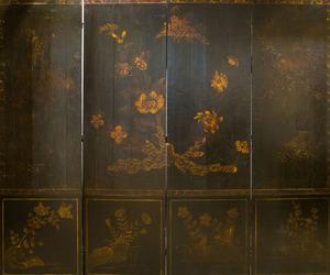 PAIR OF LOUIS XV STYLE GILTWOOD FAUTEUILS EN CABRIOLET