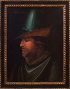 AFTER CRISTOFANO DI PAPI, CALLED DELL' ALTISSIMO (c. 1515-1605): PORTRAIT OF UGUCCIONE DELLA FAGGIUOLA