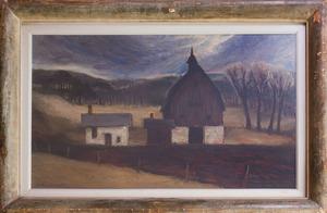 EDGAR BRITTON (1901-1982): BLACK BARN