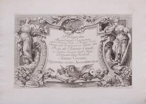ANTONIO VISENTINI (1688-1782): PROSPECTUS MAGNI CANALIS VENETIARUM, AFTER ANTONIO CANAL (1697-1768)
