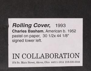 CHARLES BASHAM (b. 1953): ROLLING COVER