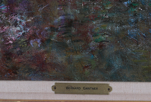 BERNARD GANTNER (b. 1928): PRINTEMPS AU LAC