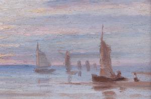 EUROPEAN SCHOOL: SEASCAPE SUNSET