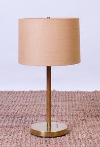 KOCH & LOWY BRASS TABLE LAMP