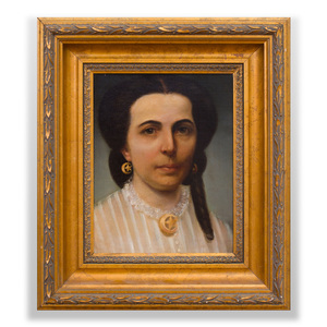 American School: Portrait of a Lady of New Orleans