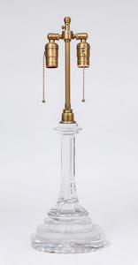ENGLISH GLASS LAMP