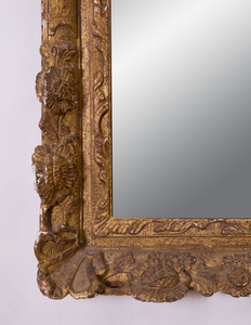 RÉGENCE STYLE GILTWOOD MIRROR