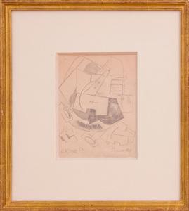 IVAN KLIOUNE (1873-1943): COMPOSITION, HOMMAGE À PICASSO