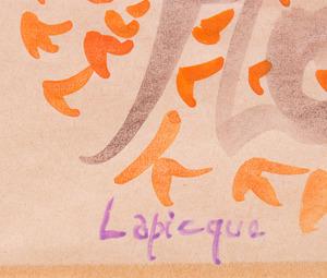 CHARLES LAPICQUE (1898-1988): LES FLOTS