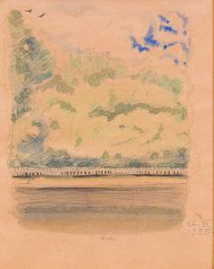 DMITRY I. MITROKHINE (1883-1973): JARDIN EN ÉTÉ