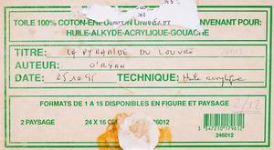 20TH CENTURY SCHOOL: VUE DE LA SEINE