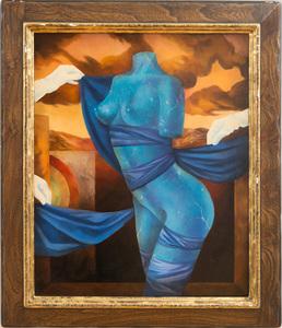 JEAN-MICHEL LENGRAND (b. 1955): BLUE TORSO