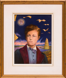 JEAN-MICHEL LENGRAND (b. 1955): PORTRAIT OF ARTHUR RIMBAUD