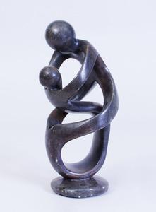 TAWANDA MAKORE (b. 1979): UNTITLED (EMBRACE)