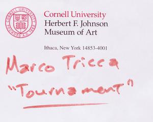 MARCO TRICCA (1880-1969): TOURNAMENT
