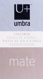 UMBRA PATINATED METAL CHESS SET