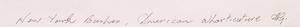 ADRIAN GEORGE: NEW YORK BUSHES, AMERICAN WHARTICUTURE
